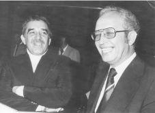 Габриел Гарсия Маркес и Никола Инджов. Мексико, 1980 г